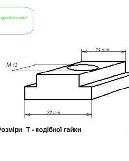 Набір плиток для  зажиму М12 / 14мм 58 шт.